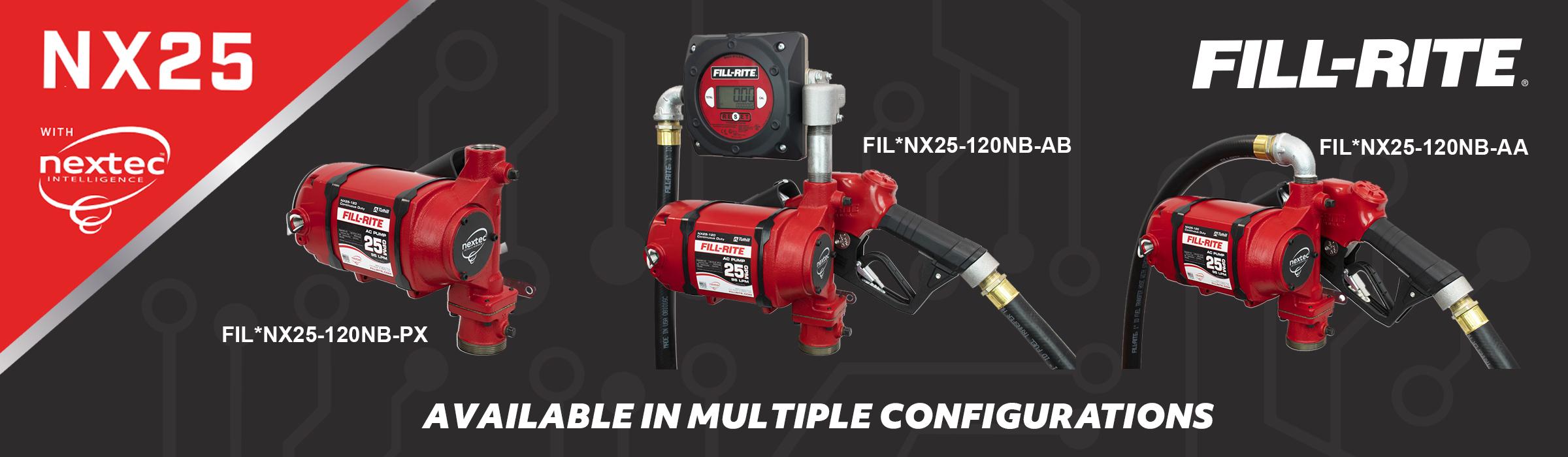Fill-Rite NX Series Pumps