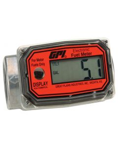 "GPI 01A31GM 1"" Digital Fuel Meter"
