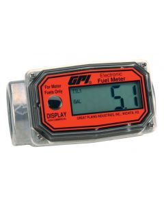 GPI 01A Digital Fuel Meter, Gallon, NPT, Methanol Only
