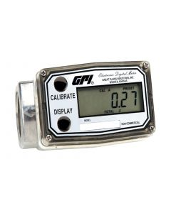 "GPI 03A30GM 1"" 0.3-3 GPM Digital Turbine Meter"