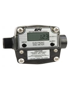 "GPI FM-300H-G8N 1"" 2-20 GPM Electronic Chemical Meter"