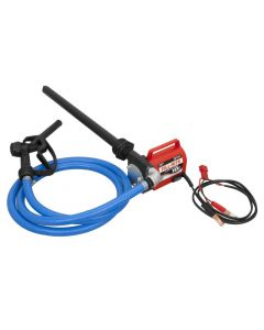 Fill-Rite FR1616 12V DC Fuel Transfer Pump w/ Manual Nozzle & In-Line Meter - 15 GPM