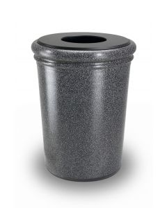 DCI Round StoneTec 50-Gallon Waste Container