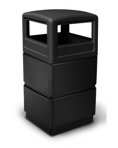 DCI 38-Gallon Waste Container With Dome Lid