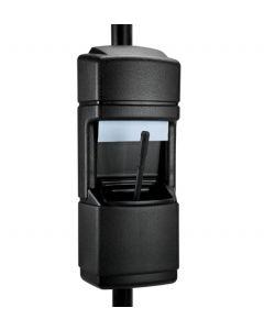 DCI Pole-Mounted  Waste 'N Wipe