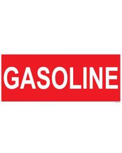 "9"" X 22"" GASOLINE Decal"