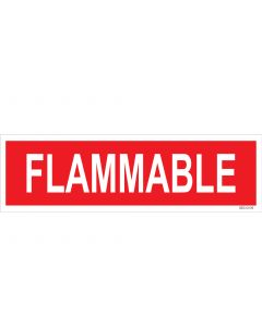 "4"" X 13.5"" FLAMMABLE PUMP Decal"
