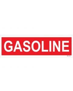 "4"" X 13.5"" GASOLINE PUMP Decal"