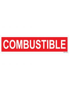 "3"" X 12"" COMBUSTIBLE PUMP Decal"