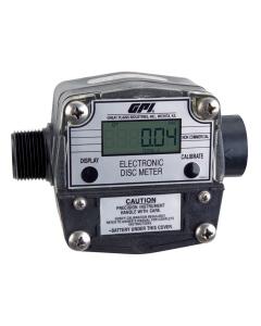 GPI LM-300-Q6N 1 in. NPT Digital Oil Meter
