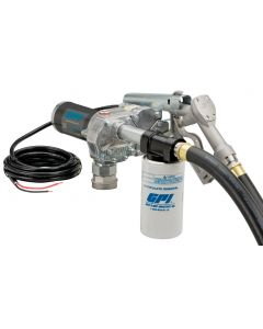 GPI M-180S-ML, 12V 18GPM Fuel Transfer Pump, Manual Nozzle, Filter Kit