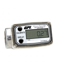"GPI 03A31GM 1"" 3-50GPM Battery-Powered Digital Meter - Methanol"