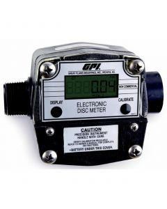 GPI LM-300-Q6N 1 in. NPT Digital Oil Meter