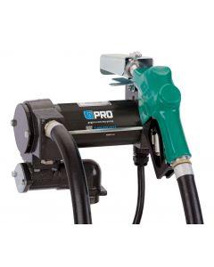 """GPRO PRO25-024AD 1""""- 25 GPM 24V DC Pump, Auto Nozzle, 18' Hose"""