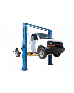 Titan 11,000 lb 2-Post Adjustable Column Clear Floor Lift