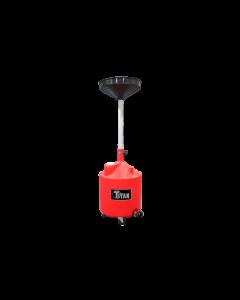 Titan 18 Gallon Adjustable Waste Oil Drain