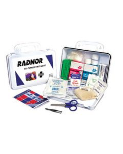 Radnor First Aid Kit Water-Resistant Plastic