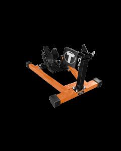 Titan Bulldog Custom Profile Wheel Chock - Black/Orange