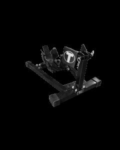 Titan Bulldog Custom Profile Wheel Chock - Black